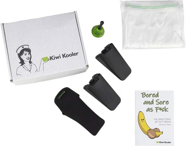 Kiwi Kooler Vasectomy Ice Pack Deluxe Party Gift